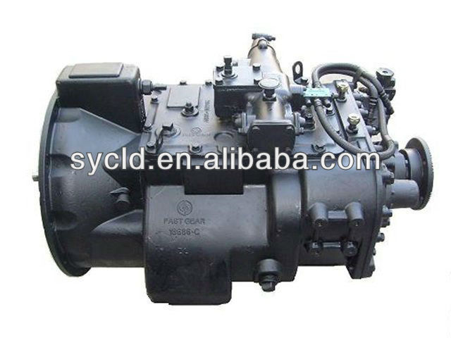 Truck parts ZF manual gearbox price 6s 1600