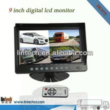 New-car lcd monitor widescreen 9 inch rear vision mirror for truck