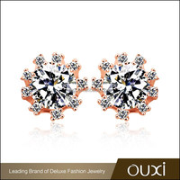 OUXI wholesale price korean fashion accessories made with AAA zircon