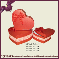 heart shape Valentine gift box