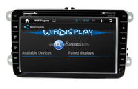 A9 dual core 8 inch Android 4.4 capacitive touch screen car dvd player for VW Passat B5 Golf Bora polo