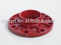 Ductile Iron Grooved Fittings Flange Adaptor(FM UL)