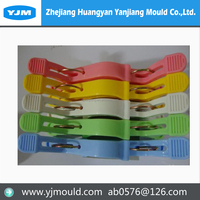 plastic strap bag clip buckle injection mould