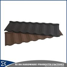 Popular stone coated metal shingle roof/stone coated metal roofing tile(shingle tile)