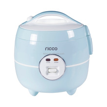 Shinny strong plastic body mini portable travel rice cooker 1 litre