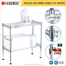 NSF Approval Changsheng custom wire shelving storage rack for living room