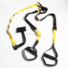 Body Trainer Belt Type Sling Home Fitness Yellow