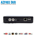 New type Azfree duo Special for South America Amazonas Satellite TV Receiver 2pcs/lot for sale
