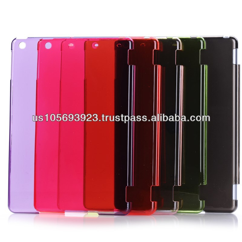 Crystal Clear Hard PC Case Cover Skin For Ipad Air (5th Gen.) 7colors