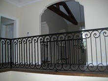Good quality cheap Balustrades Handrails oem garden stair railing