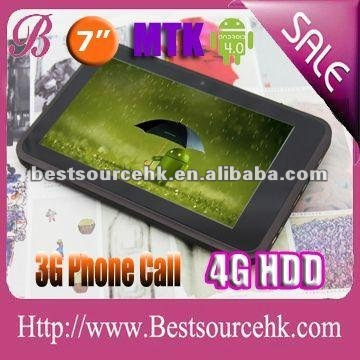 GPS Newset 3g tablet mid with best quality MTK6575 with CE MTK7501