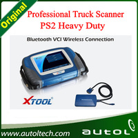 2016 New XTOOL PS2 Heavy Duty Truck Scanner Supporting International European American JapanTrucks Diagnostic free