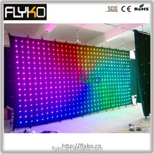 Shenzhen UH-LED led video curtain/led vision panel/variable message signs