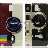 FL3068 2013 Guangzhou new arrival retro camera pc back cover phone case for samsung galaxy note 3 n9000