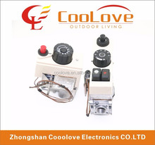 multifunctional thermostat control valve for room heaters