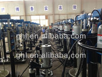 sealant spreading machine for insulated glass unit