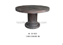 Antique good timber finishes wooden living room furniture coffee table
