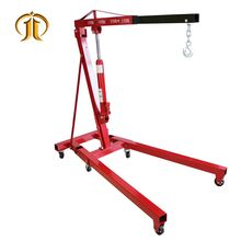 CE Certificate 3 Ton Hydraulic Foldable Shop Crane Engine Lifter Lifting Cranes