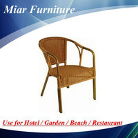 Outdoor Bamboo furniture Wicker Restaurant Chair 101246