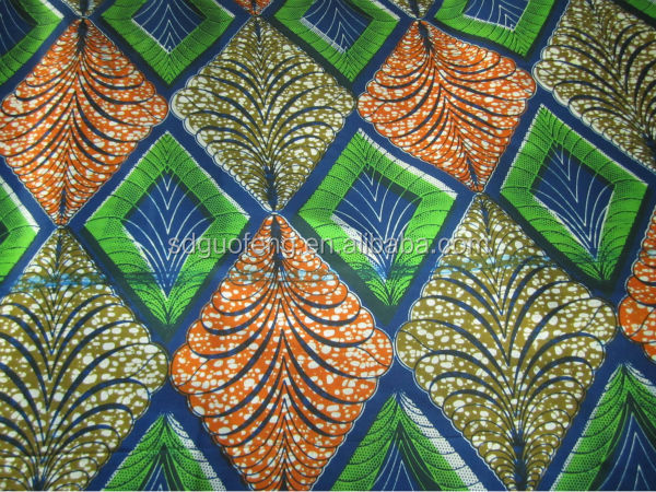 Cheap price 100% cotton wax print fabric for sale 6 yards kain batik