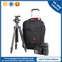2016 new style trolley camera bag,camera bag with hidden tripod pocket