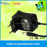 Small Size Wall Plug In 9V1A Power Adaptor AC Adapter