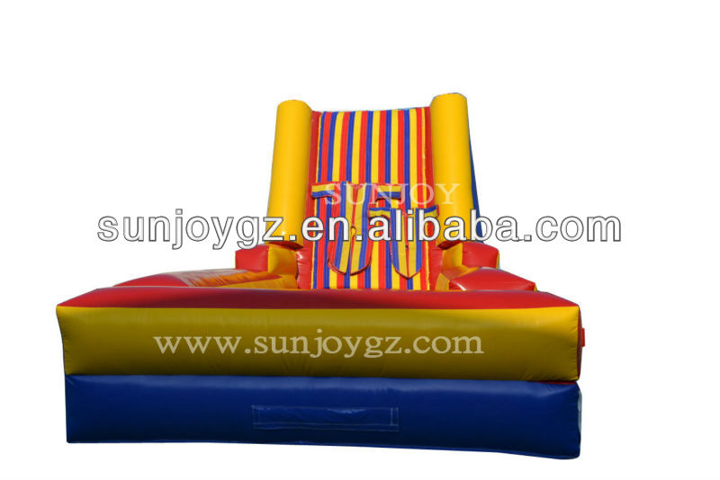 inflatable sticky wall sprot game sticky on the wall toys