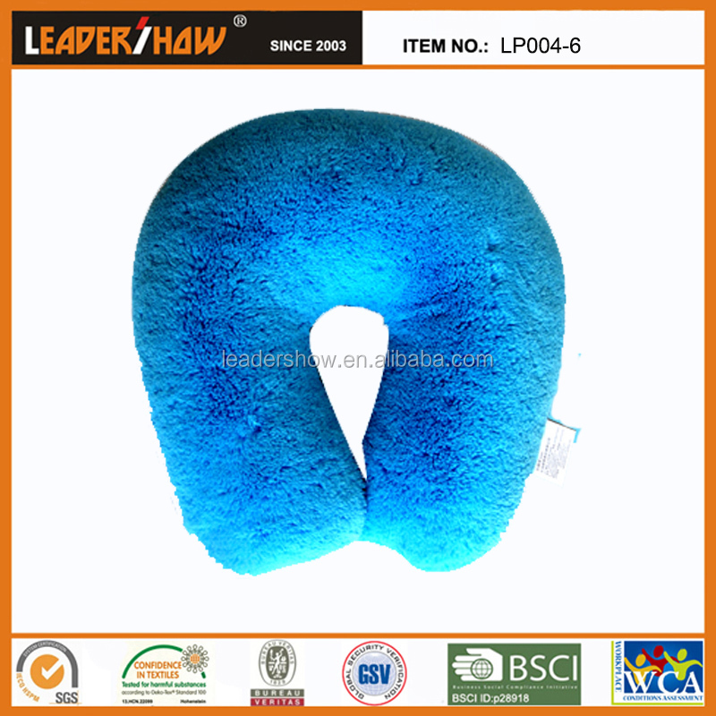 U shape cherry stone pillow u Shape Warming Neck Pillow from china factory