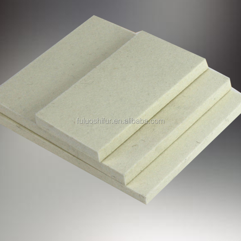 thick white wool felt fabric