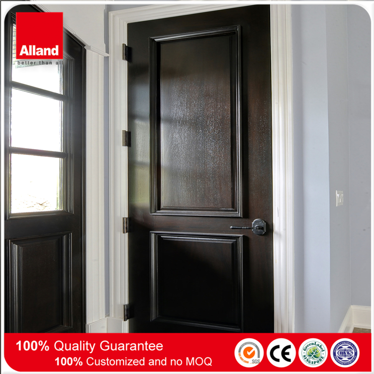36'' x 96'' mahogany wood veneer composite solid core MDF door for bedroom