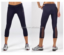 2014 new style gym pants plain yoga pants short pants women