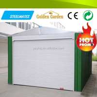 Pre-painted color coated professional manufacturer cheap steel carport garage canopy