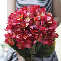 AF28125 artificial flowers for wedding decorations artificial giant hydrangea