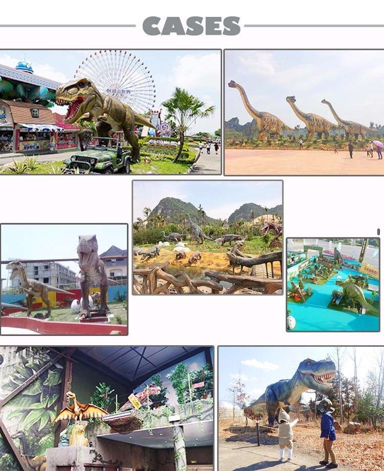Amusement Park Dinosaur King T-rex for Sale