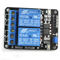 5V 10A 2-Channel Relay Module Shield for Arduino ARM PIC AVR DSP Electronic