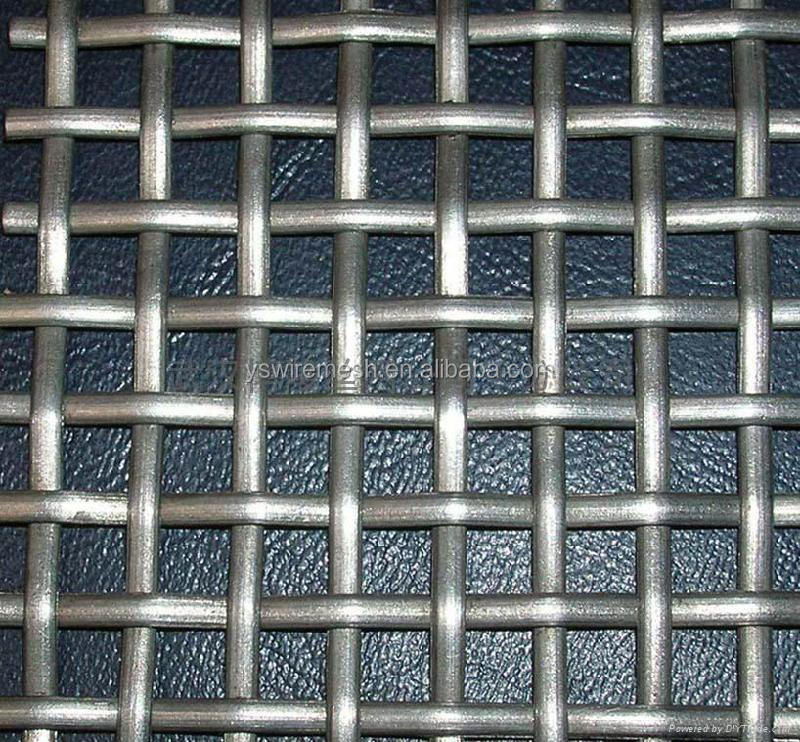 Galvanized mine sieving mesh, stainless steel square wire mesh,mine screen mesh (factory)