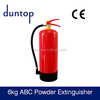 red Fire extinguisher empty bottle
