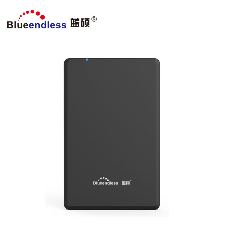 Blueendless factory portable HDD 1TB 2.5 SATA disk external hard drive