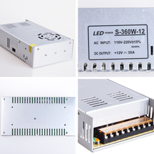 switch power supply 12v 60W 100W 150W 200W 250W 360W with very competitive factory price