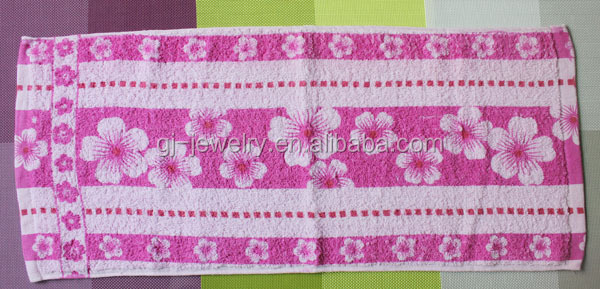 Best selling product cotton flower rally towel