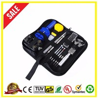 Hot New 13 Pcs Set Kit Pin Remover Case Opener Adjuster Durable Portable Watchmaker Watch Repair Tool
