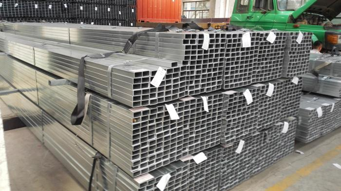 Factory Price Pre galvanized Rectangular tube/ RHS tubing