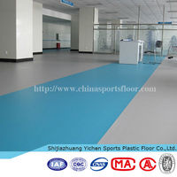 Indoor pvc table tennis court flooring table tennis pvc sports floorings