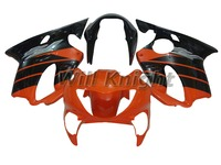 100% Fit ABS Fairing Kit For HONDA CBR600 F4 1999 2000 Orange Black