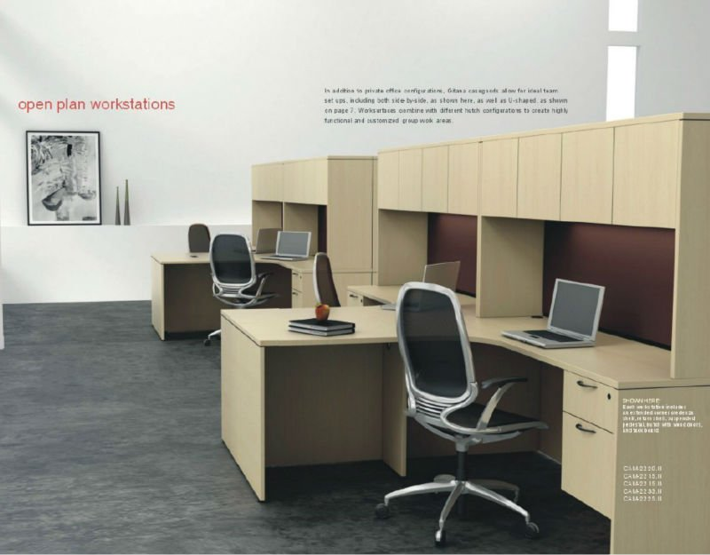 with overhead storage office simple style maple wood executive desk