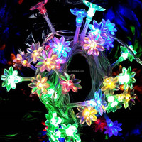 Economical home/comercial decoration LED String Lights 6m 20ft 60leds with battery box suitable for most festivals