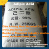 Competitive Price Free Sample High Purity 99.7% min Adipic Acid