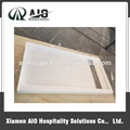Cultured Marble Shower Base Cultured Marble Shower Pan Shower Tray 60''x30''x4'' for US Hotel