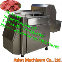 Frozen Meat slicing machine / Frozen meat slicer / Frozen meat cube cutting machine
