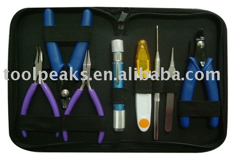8PC Jewelry Making Tool kit(JP3001) with pliers sets with different sizes